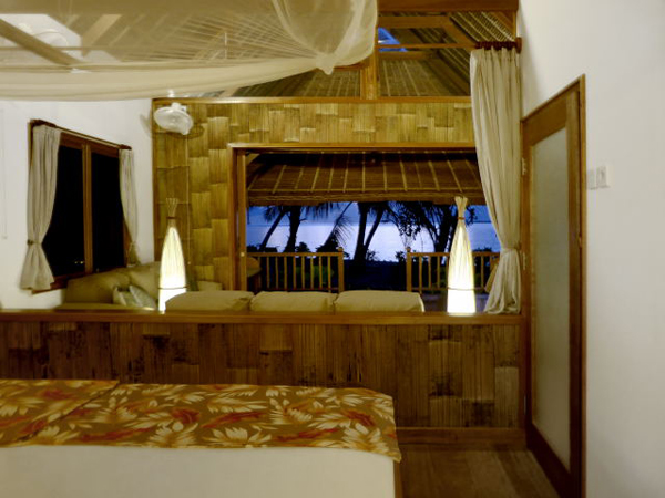 WavePark Mentawai Resort Bedroom