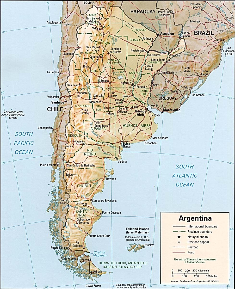 Argentina Surf Trip Destinations
