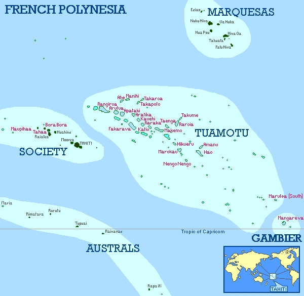 French Polynesia Surf Trip Destination And Travel Information By - French polynesia map