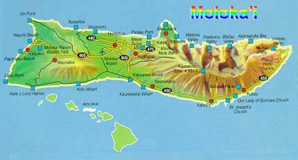 Molakai Map