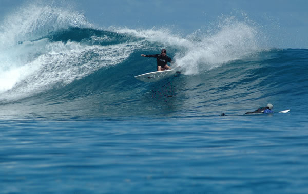 Jason Hennessey Surfing in the Mentawai Islands in Indonesia